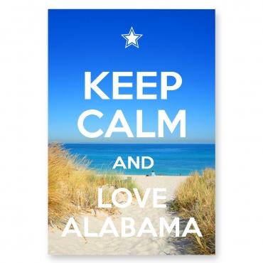 Keep Calm and Love Alabama