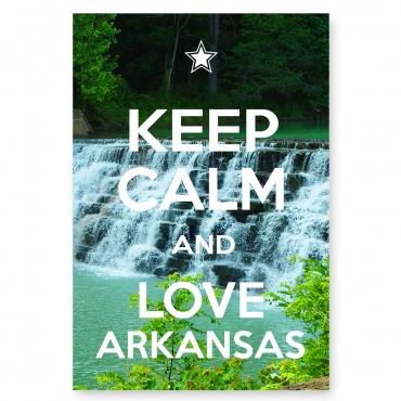Keep Calm and Love Arkansas