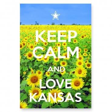 Keep Calm and Love Kansas