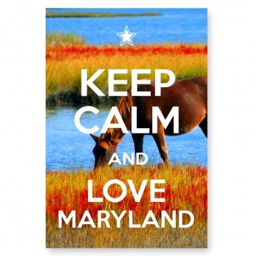 Keep Calm and Love Maryland