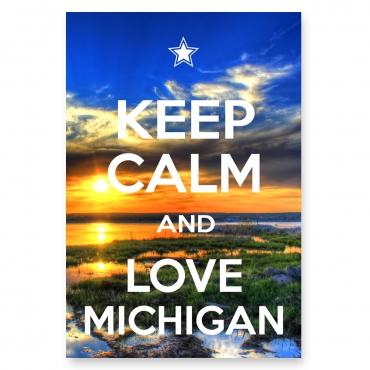 Keep Calm and Love Michigan