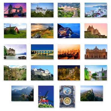 Charming Europe Set of 10