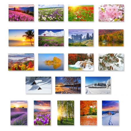 Four Seasons Set of 20
