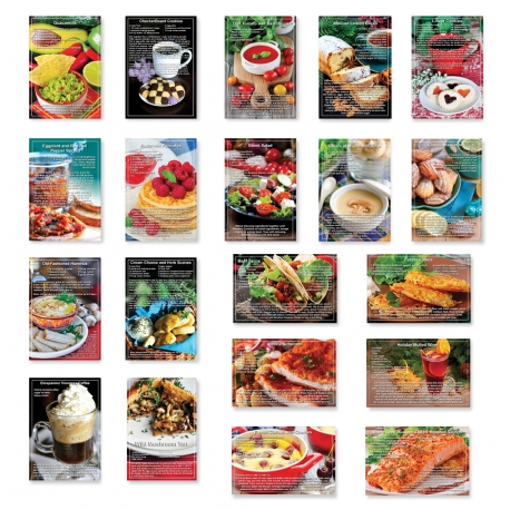 Recipes Set of 10