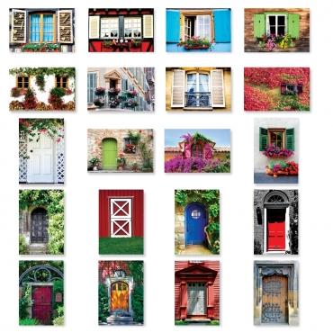 Doors and Windows Set of 20