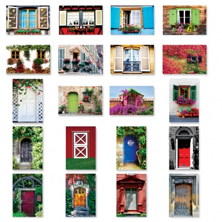 Doors set of 10