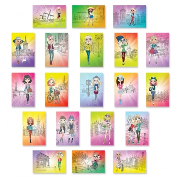 Fashion Girls Set of 20