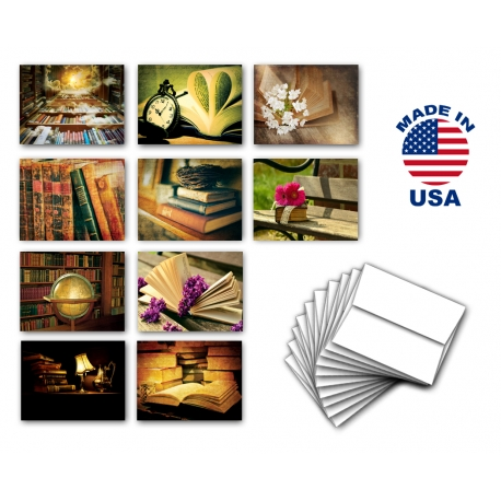 Coffee & Tea Note Cards Set of 10