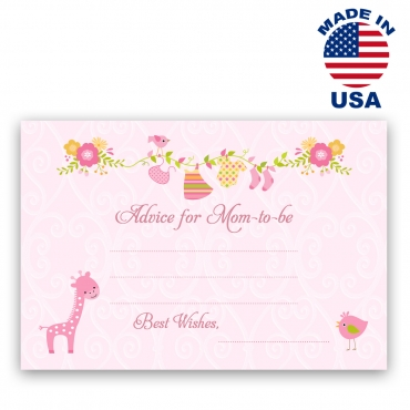 Advice for Mom-to-be Cards Set 1