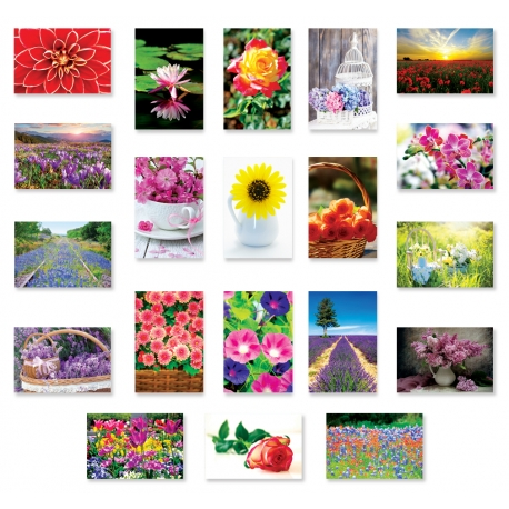 Flowers Set of 10