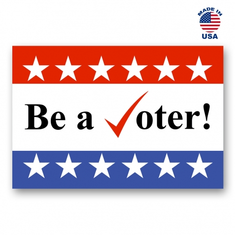 Be a Voter Set of 20
