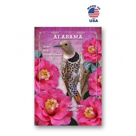 Alabama Bird & Flower Set of 20