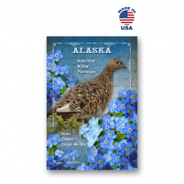 Alaska Bird & Flower Set of 20