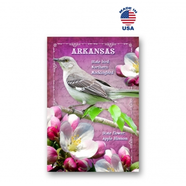 Arkansas Bird & Flower Set of 20
