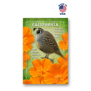 California Bird & Flower Set of 20