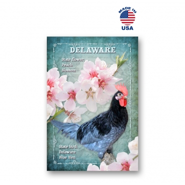Delaware Bird & Flower Set of 20