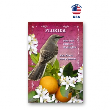 Florida Bird & Flower Set of 20