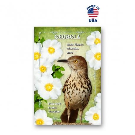 Delaware Bird & Flower Set of 20