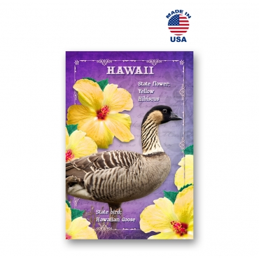 Hawaii Bird & Flower Set of 20