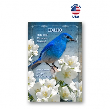 Idaho Bird & Flower Set of 20