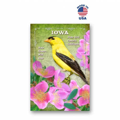 Indiana Bird & Flower Set of 20