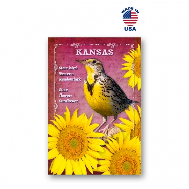 Kansas Bird & Flower Set of 20