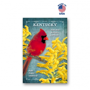 Kentucky Bird & Flower Set of 20