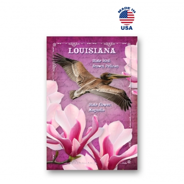 Louisiana Bird & Flower Set of 20
