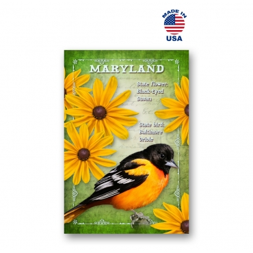 Maryland Bird & Flower Set of 20
