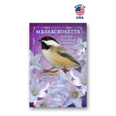 Massachusetts Bird & Flower Set of 20