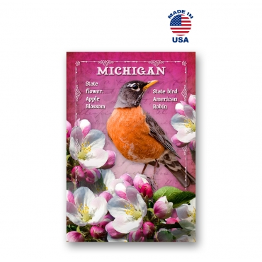 Michigan Bird & Flower Set of 20
