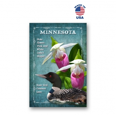 Minnesota Bird & Flower Set of 20