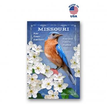 Missouri Bird & Flower Set of 20