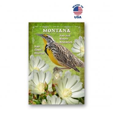 Montana Bird & Flower Set of 20