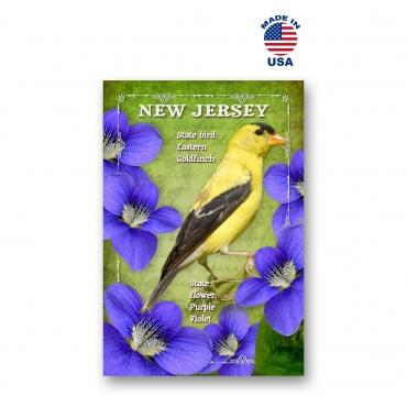 New Jersey Bird & Flower Set of 20