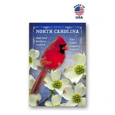 North Carolina Bird & Flower Set of 20
