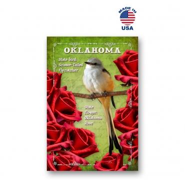 Oklahoma Bird & Flower Set of 20