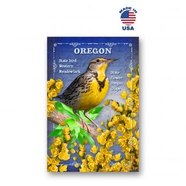 Oregon Bird & Flower Set of 20