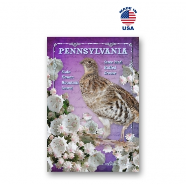 Pennsylvania Bird & Flower Set of 20