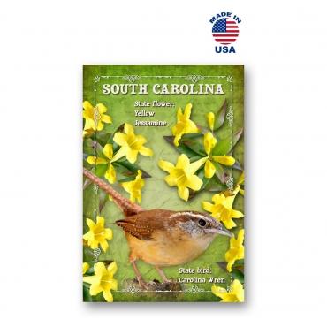 South Carolina Bird & Flower Set of 20