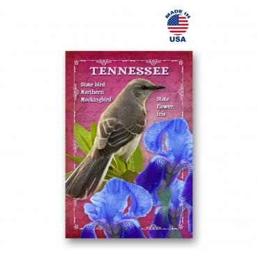 Tennessee Bird & Flower Set of 20