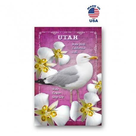 Texas Bird & Flower Set of 20