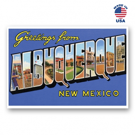 Greetings from Albuquerque, New Mexico Set of 20