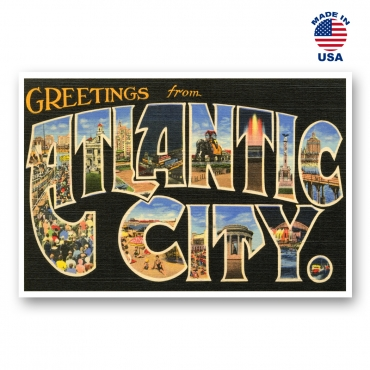 Greetings from Atlantic City, New Jersey Set of 20