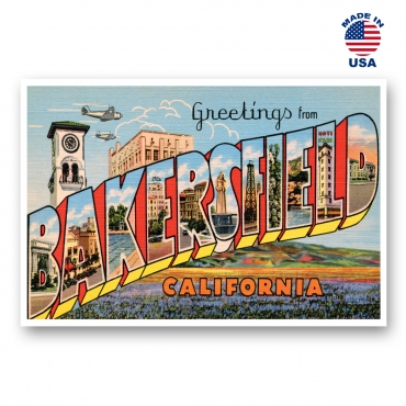 Greetings from Bakersfield, California Set of 20