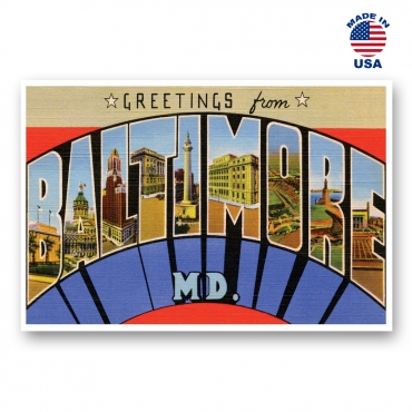 Greetings from Atlanta, Georgia Set of 20