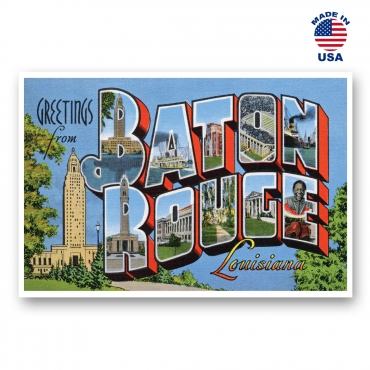 Greetings from Baton Rouge, Louisiana Set of 20