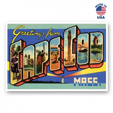 Greetings from Cape Cod, Massachusetts Set of 20