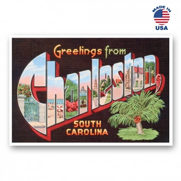 Greetings from Charleston, South Carolina Set of 20