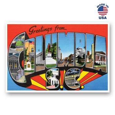 Greetings from Charlotte, North Carolina Set of 20